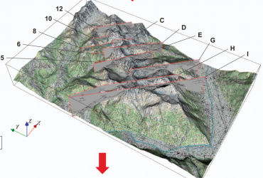 A 3D geological model of a structurally complex Alpine region as a basis for interdisciplinary research