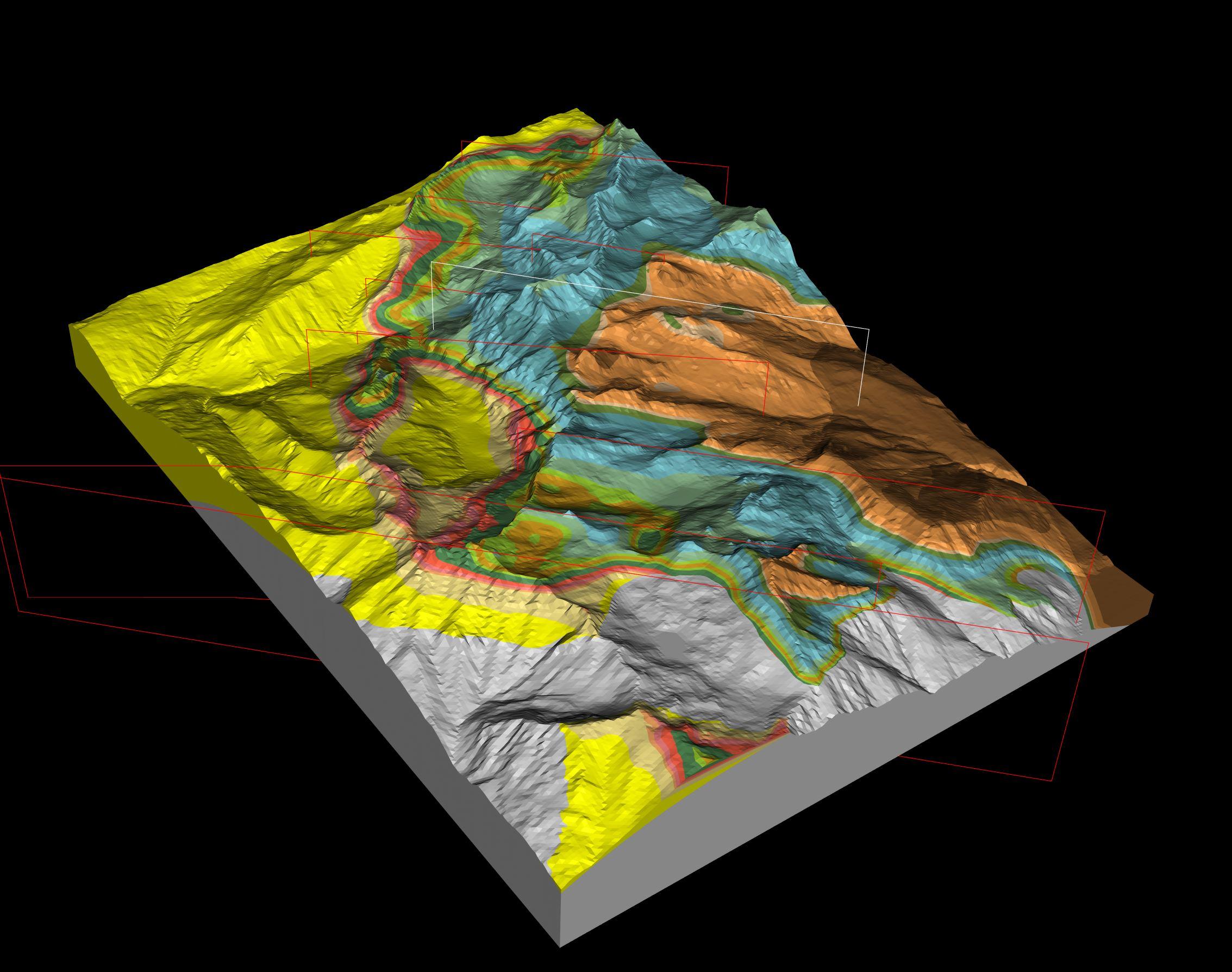 GeoModeller Training Topics